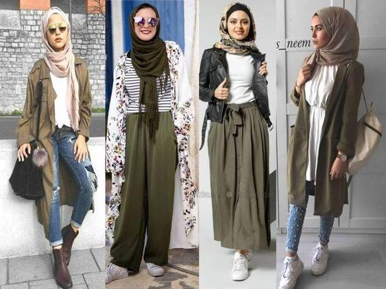 أزياء الربيع لملابس المحجبات2018