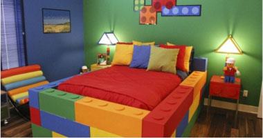 بالصور.. غرف أطفال منالمكعبات