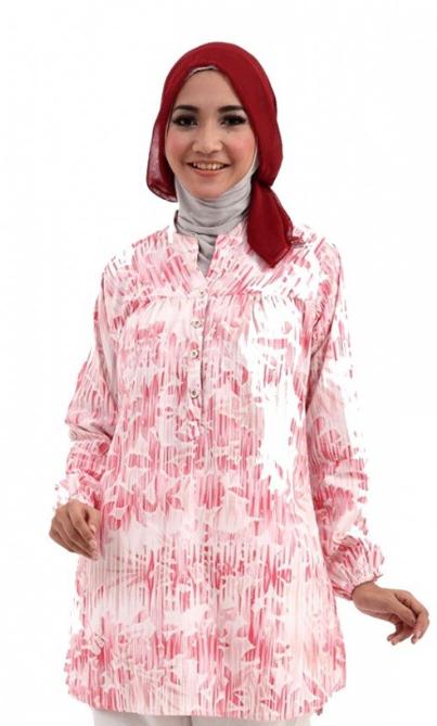 32 Model Baju  Muslim  Atasan Untuk Ibu Hamil  Terbaru 2019