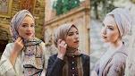 لفات حجاب متنوعة لصاحبات الوجهالقلب